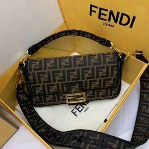 Fendi Top Handle Bag New Check Description